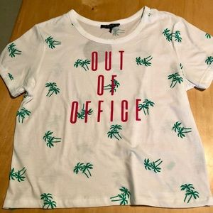"""NWT Love, ☮️, & Lazy Days """"Out of Office"""" 👚"""
